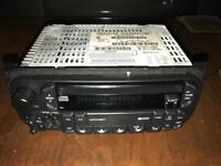 Chrysler Radio and compact disc player genuine