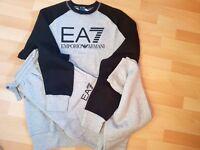 EA7 ARMANI CREW NECK TRACKSUIT