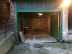 Garage to rent, close to Marylebone/Baker St Stations. Outside Congestion Charge Zone. £75 PW