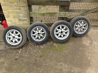 Classic Mini Wheels and Tyres