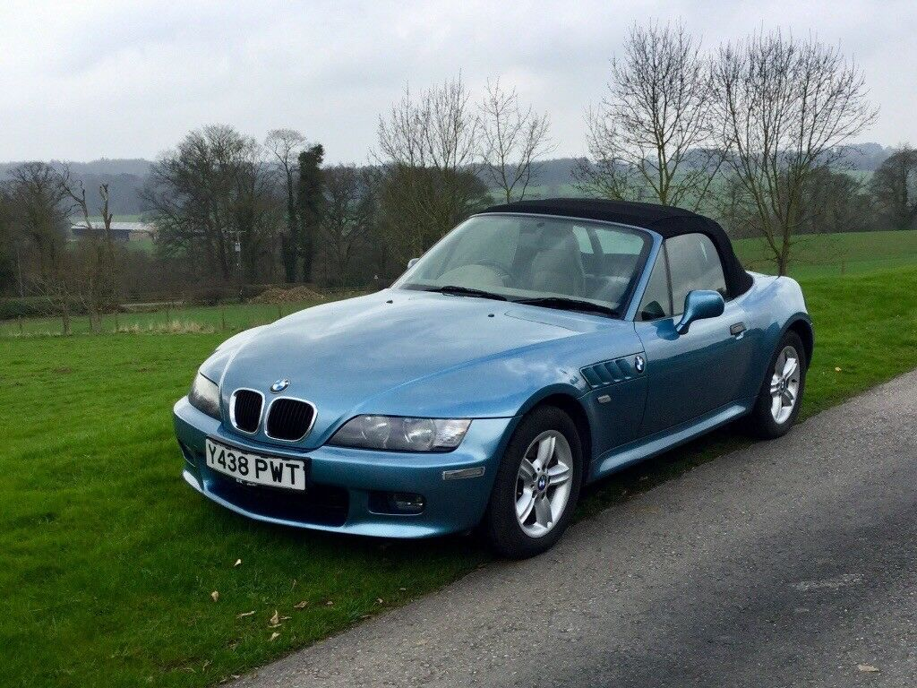 Bmw Z3 Roadster 2 2i James Bond Blue With Cream Leather
