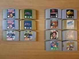N64 Game Selection
