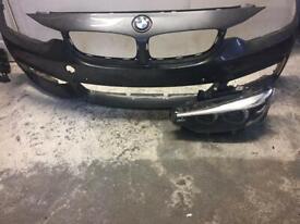 BMW 4 series m sport 2016 2017 2018 2019 passenger headlight front bumper