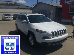 2015 Jeep Cherokee LOADED WITH ALL THE OPTION LEATHER PAN ROOF,