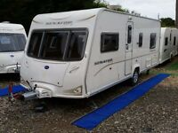 2008 Bailey Senator Indiana 4 Berth Fixed Bed Caravan