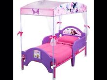 DISNEY MINNIE MOUSE with DAISY DUCK Toddler Bed with CANOPY NEW Mudgeeraba Gold Coast South Preview
