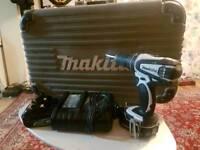 Makita Cordless Combi 18v Drill set