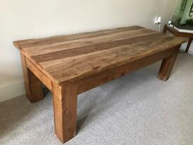 Beautiful solid wood centre table