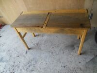Vintage old style school desks only 4 left £30 each