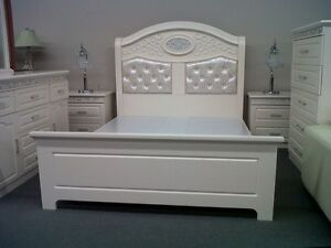 Beautiful Queen Bed Set for Sale