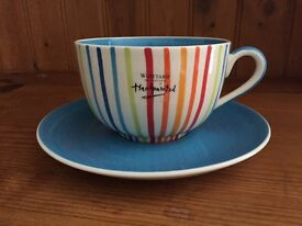 Large Cup and Saucer by Whittards of Chelsea