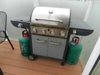 Gas Barbeque with gas bottles