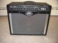 PEAVEY BANDIT 112 TRANSTUBE 80 WATT GUITAR COMBO - GOOD CONDITION WITH FOOT SWITCH AND COVER