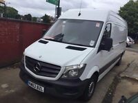 2013 MERCEDES-BENZ SPRINTER LWB. EURO 6 ENGINE. 1 OWNER FROM NEW. FULL SERVICE HISTORY. WARRANTY.