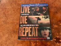 Edge of Tomorrow (Live Die Repeat) 3D Blu-ray | Import