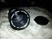 Nikon fit Vivitar Zoom 80-200mm lens