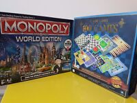 Monopoly World Edition+100Games £17