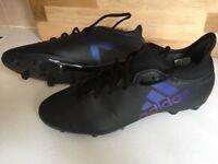 Adidas Football Boots X Techfit Neoprene sock - size 9 hardly worn...