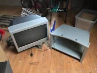"Television with stand 26"" Toshiba"