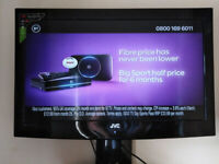As new jvc 32 inch lcd tv full hd with freeview,