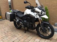 TRIUMPH EXPLORER ONLY 1300 MILES !!!