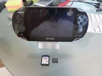 PS Vita - with 4gb memory card & Most Wanted Game