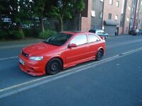 Vauxhall Astra, sport, 1 owner, two keys