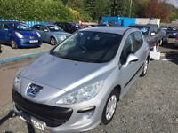 2008 PEUGEOT 308 VTI --1.6L--3 MONTHS NATIONWIDE WARRANTY