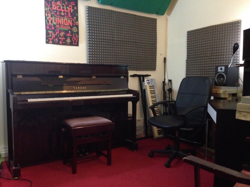 STILL AVAILABLE! *Soundproof* Music Practice Room/Production/Rehearsal Studio w/Piano, Wed or Fri