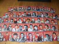ELVIS PRESLEY. THE OFFICIAL COLLECTORS EDITION MAGAZINE SERIES. THE COMPLETE COLLECTION. 1-90. NEW