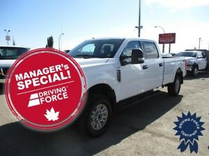 "2017 Ford F-350SD XLT Crew Cab 176"" WB 4X4 w/8' Box, 6.2L V8 Gas"