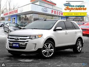 2014 Ford Edge Limited**Chrome wheels, NAV, leather***