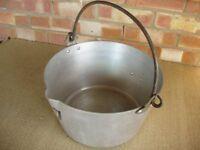 LARGE JAM MAKING PAN.