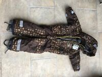 Didriksons 90 cm ski suit fantastic condition suitable boy or girl