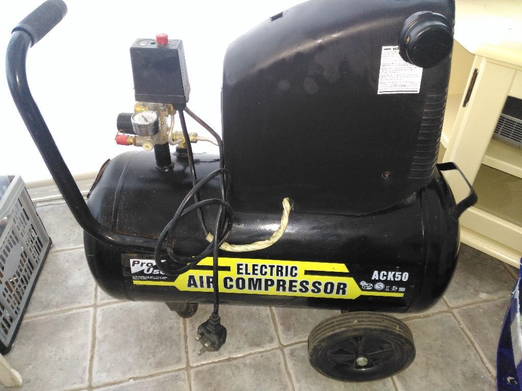 Pro user electric air compressor ack50 50 litres with - Compresor 50 litros ...