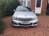 Pco car Mercedes c class Uber ready to rent just 150 PW