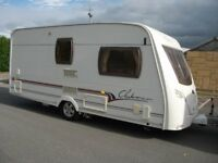 **LUNAR CLUBMAN 475,LUXURY 2 BERTH CARAVAN WITH MOTOR MOVER, FACELIFT MODEL,SUPERB EXAMPLE**