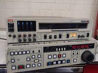 BTS Betacam SP recorder - player - editor, type; BCB70