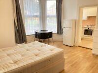 Converted Quality Raised Spacious Studio Flat Separate KitchenShower Garden VeryNearTubeRailBusShops