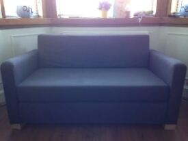 Ikea brown sofa bed for sale