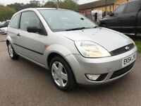 2004 54 reg FORD FIESTA 1.4 ZETEC,65k,MOT OCTOBER 2018,JUST FULLY SERVICED