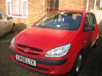 HYUNDAI GETZ - RED
