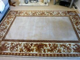 Beautiful neutral colour chinese rug
