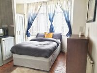 Beautifully refurbished DOUBLE Studio in Dudley