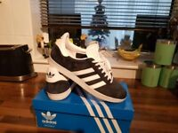mens adidas gazelle trainers size 9