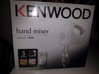 Brand New White Kenwood Hand Mixer