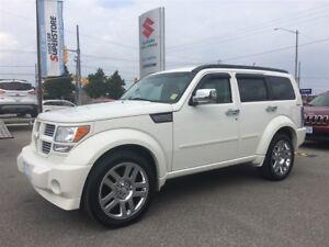 2010 Dodge Nitro SXT 4X4 ~Power Heated Leather ~Chome 20 Wheels