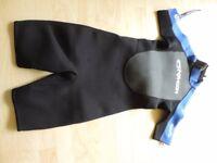 Kid's Typhoon storm shorty wetsuit.