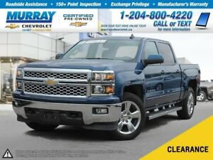 2015 Chevrolet Silverado 1500 LT *OnStar, Rear View Camera, Clim