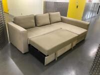 L shape sofa bed with storage, Free delivery